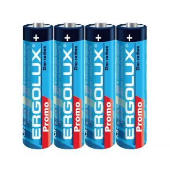 Батарейки Ergolux R6 солевая (AA-пальчик)