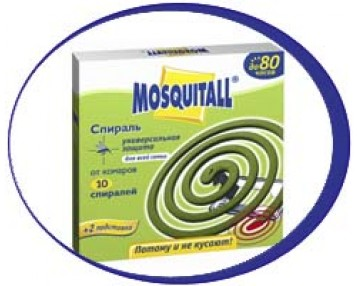 Спирали от комаров