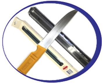 Ножи кухонные в ассортименте, магнитные планки