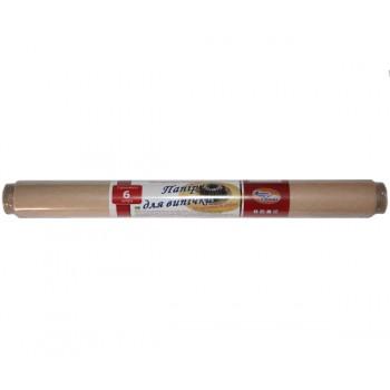 Пергаментная бумага для выпечки 6м/42см (коричневая)