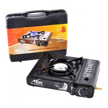 Портативная газовая плита MS-2500 LPG (черная, коричневая)