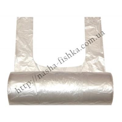 Пакеты п/э майка №22*45 рулон 200 шт.(7 мкм)