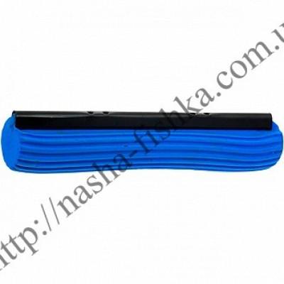 Сменная насадка для швабры с отжимом, 27 см синяя (жесткая)