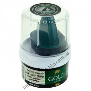 Крем - блеск водоотталкивающий Gold  Care черный