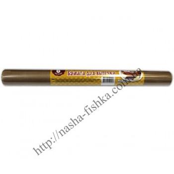 Бумага пергаментная для выпечки 6м (38см), коричневая