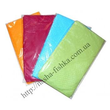 Скатерть полиэтиленовая цветная 80 мкм (120 х 200 см)
