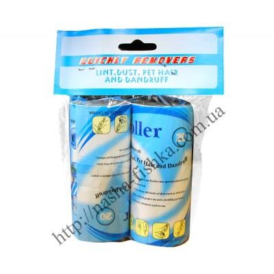 Запаски для роллеров с липкой лентой для чистки одежды