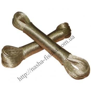 Трос металлополимерный (Китай) 20 м (2,5 мм)