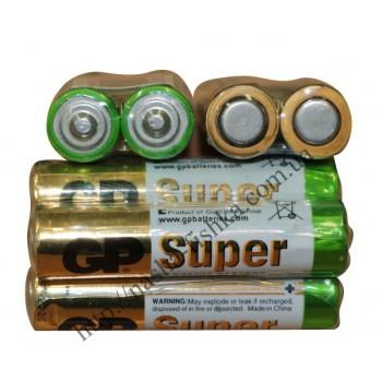 Батарейки GP LR 03 щелочные ААА (м/п)