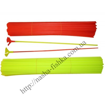 Пластиковые палочки с насадкой для воздушных шаров