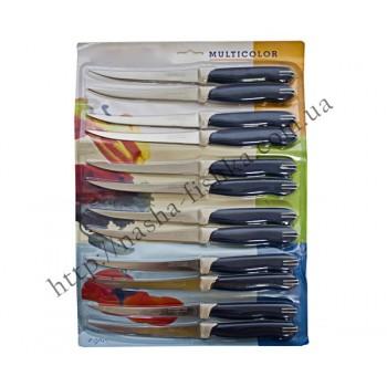 Ножи кухонные с пластмассовой ручкой