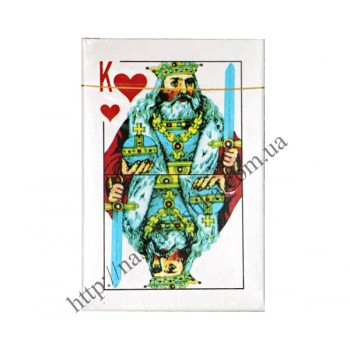 Карты игральные Король в ассортименте (54 шт.)