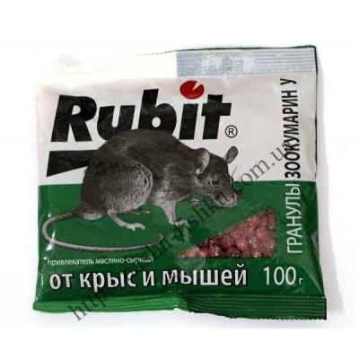 Гранулы Зоокумарин У RUBIT от крыс и мышей (100 г.)