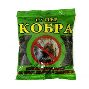 Супер Кобра - готовая приманка от крыс и мышей (150 гр.)