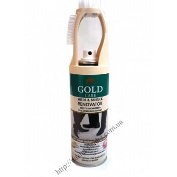 Аэрозоль для замши Gold Care натуральный 200 ml