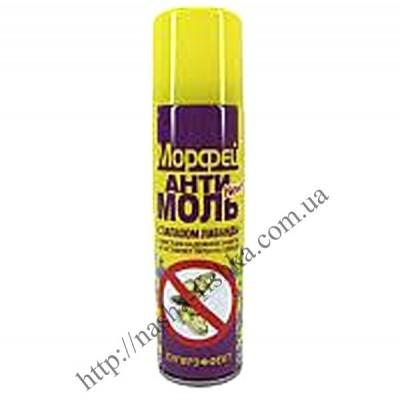 Купить оптом антимоль Морфей с запахом лаванды (150 мл)