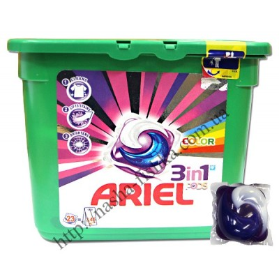 Капсулы для стирки Ariel 3 in 1 Color 30 шт.