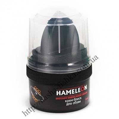 Крем-блеск водоотталкивающий для обуви Hameleon коричневый купить оптом