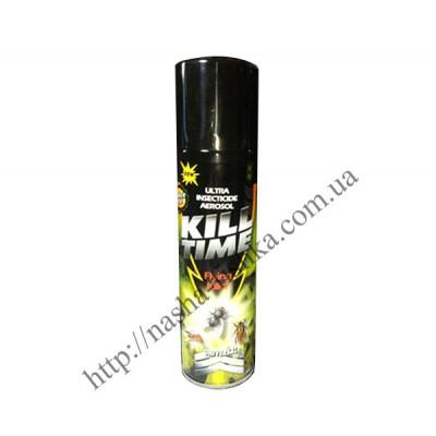 Дихлофос (инсектицид)  Kill Time 220 мл без запаха (универсальный)