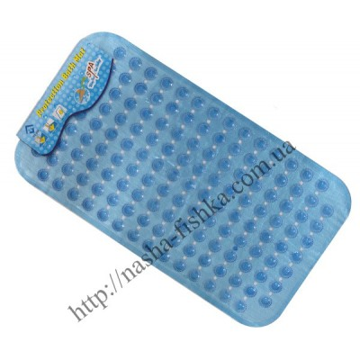 Силиконовый коврик для ванной №69 (37*69 см)