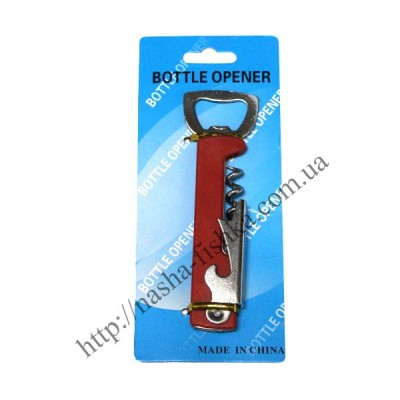 Барный нож-штопор 3-х ступенчатый купить оптом
