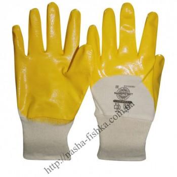 Перчатки с нитриловым 2-х сторонним покрытием