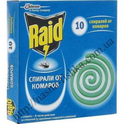 Купить оптом cпирали от комаров Raid