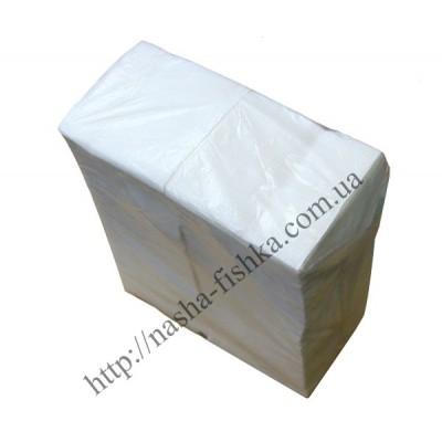 Салфетки Премьер 21,5*22 Барные (350 шт.) белые (12 уп/м)