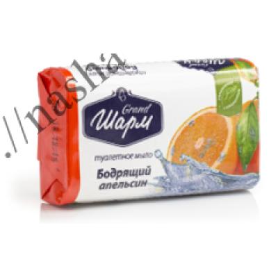 Мыло туалетное Шарм Бодрящий апельсин 70 г.