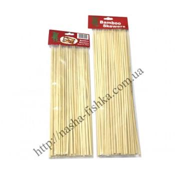 Шпажки бамбуковые для мяса (длина 25 см/4 мм)
