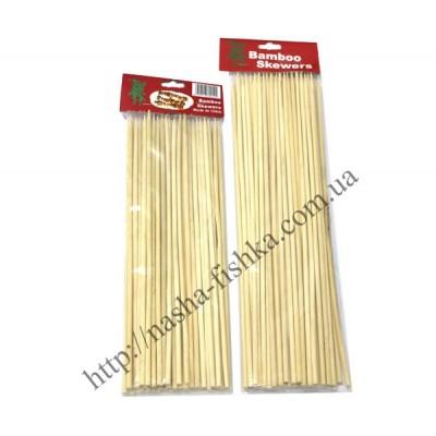 Шпажки бамбуковые для мяса (длина 30 см/4 мм)