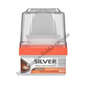 Крем для обуви Silver Express коричневый