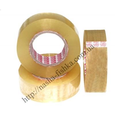 Скотч упаковочный 200 м (45 мкм * 45 мм) прозрачный