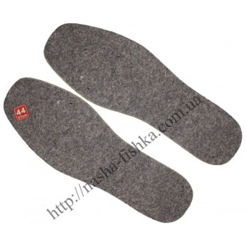 Стельки войлочные для обуви (толщина 7 мм)