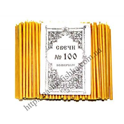 Церковные парафиновые свечи №100 (500 шт.)