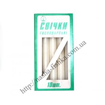 Свечи хозяйственные 185 х 20 мм (10 шт.)