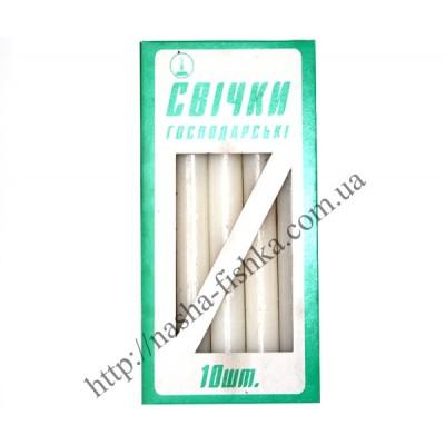 Свечи хозяйственные 240 х 20 мм  10 шт.