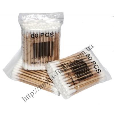 Гигиенические ватные палочки на деревянной основе № 80