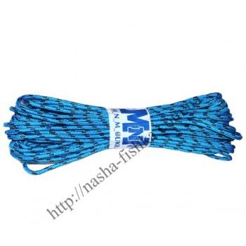 Шнур плетеный 15м (5мм) с наполнителем цветной