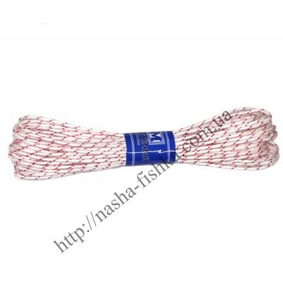 Шнур плетеный 15 м (3мм) с наполнителем белый