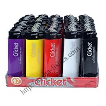 Зажигалки карманные Cricket цветные кремниевые (№0001-1)