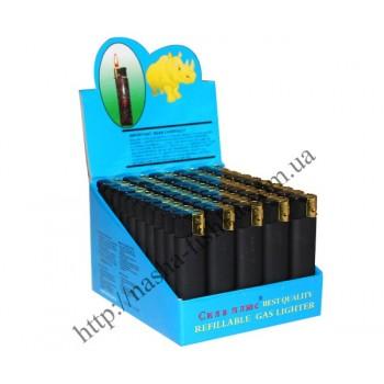 Зажигалки пьезо резина черные (заводские)