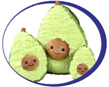 Игрушки Авокадо