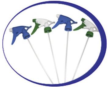 Распылители ( триггеры) , бутылки пластиковые