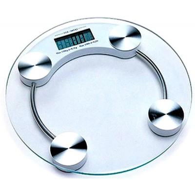 Весы напольные стеклянные круглые